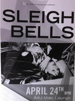 sleigh bells poster