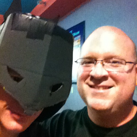batman and an awesome writer
