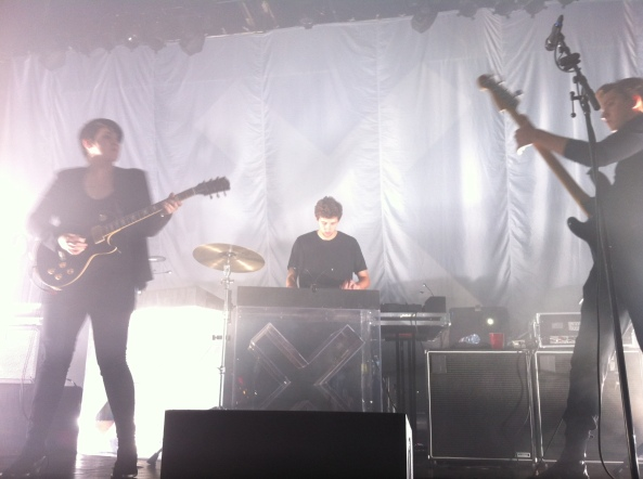 the xx performing