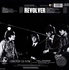 revolver's back cover