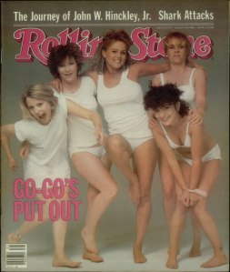 go-go's on rolling stone cover