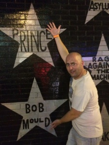 The Purple One and Bob Mould. I took great pains to crop out Soul Asylum's star. Hate them.
