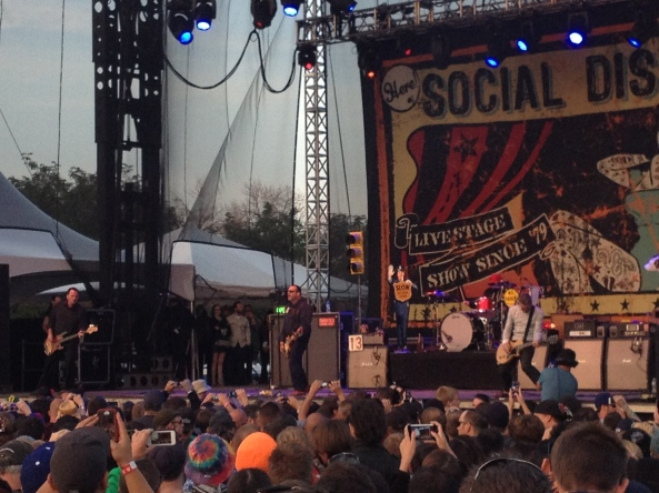 A staple at these festivals, Social Distortion failed to disappoint.