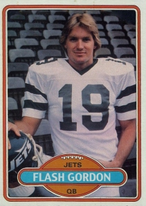 1980 Flash Gordon Football Trading Card