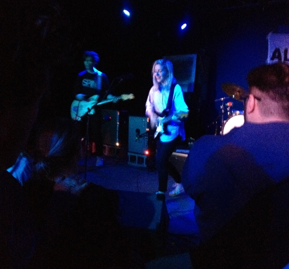 alvvays performing in Iowa City
