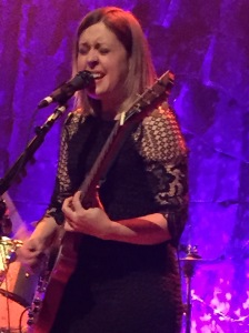 Corin Tucker getting into it