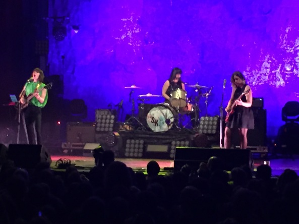 Sleater-KInney at The Pageant in St. Louis, April 24