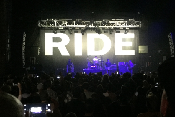 ride performing live