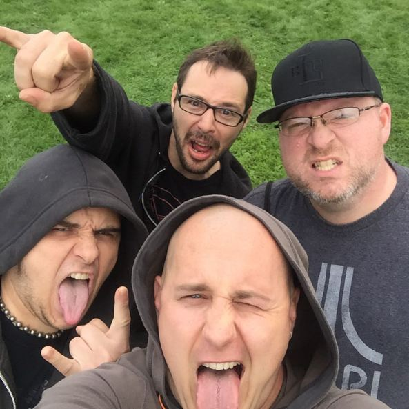 four dorks at riot fest