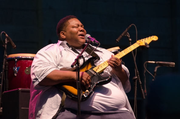 big guitarist